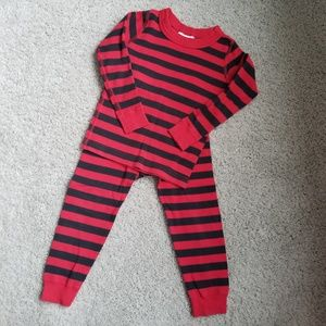Hanna Andersson Striped Pajamas Size 90